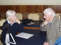 Recording oral histories