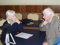 Recording oral histories